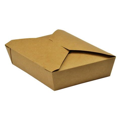 No.2 food carton 1500ml (19.5 x 14 x 5cm) - kraft