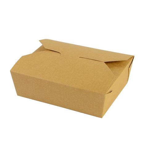 No.5 food carton 1050ml - kraft