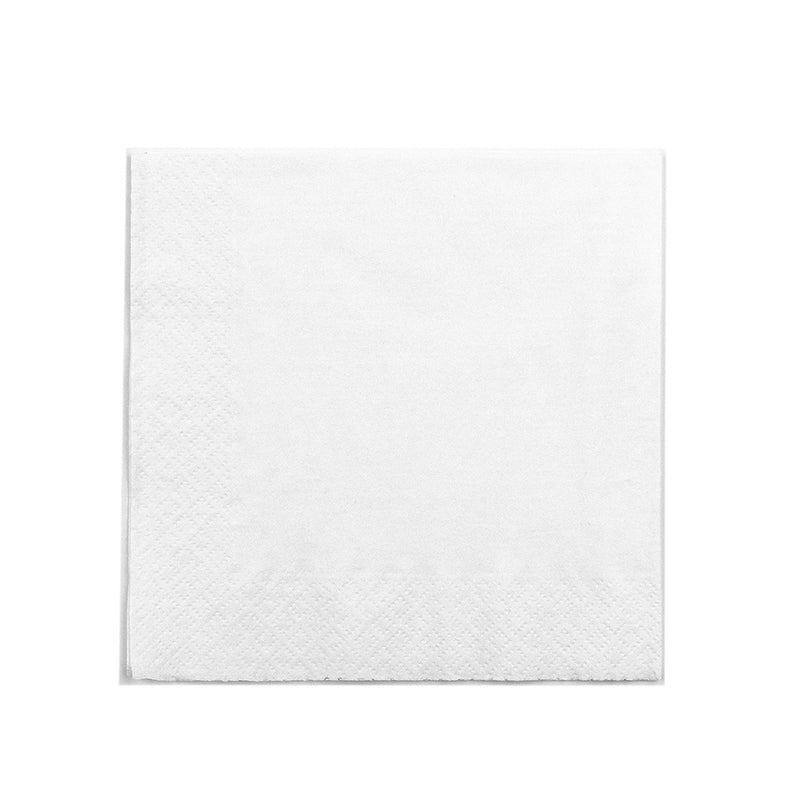 Lunch 33 x 33cm Napkins 2-ply - white