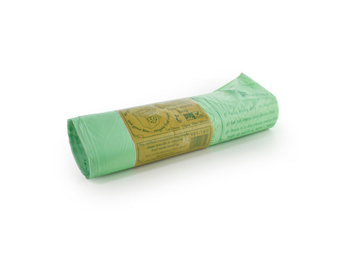 Compostable liner 140 litre, 10 per roll