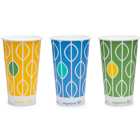 12oz (360ml) paper cold cup - Hula - 76 Series
