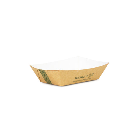 Size 25 - 11 x 8 x 3cm kraft food tray