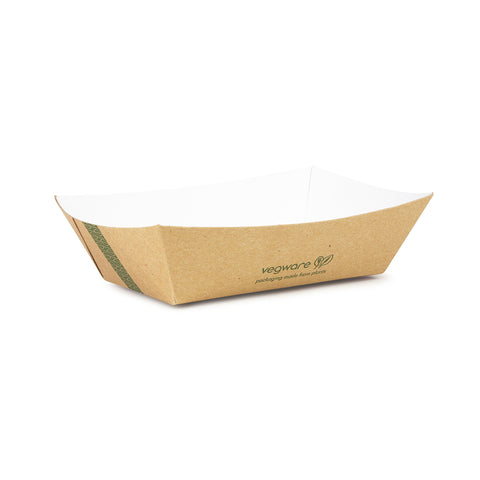 Size 200 - 17 x 12 x 4cm kraft food tray
