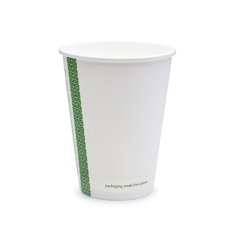 12oz (360ml) White Single Wall coffee cup - 89 series