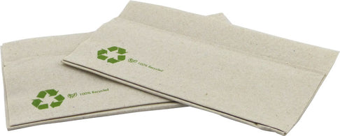 Lunch 33 x 33cm Napkins 1 Ply with 2 free dispensers - kraft