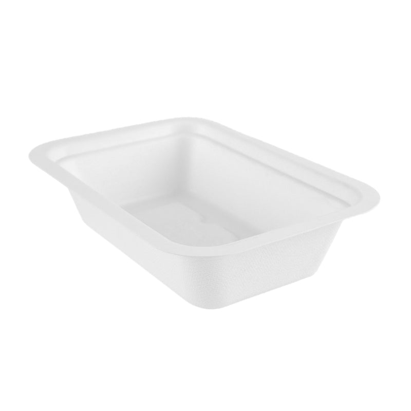 16oz (470ml) bagasse base - white - fits V3 lids