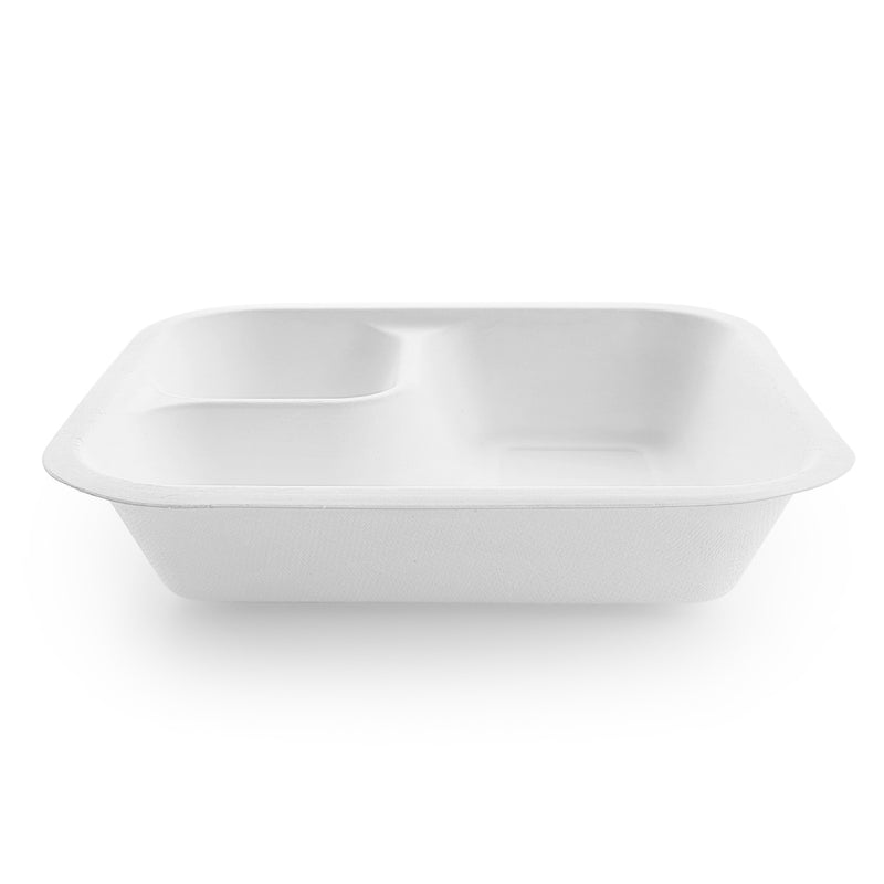 18oz (550ml) Dipping corner (fits medium lid) - white
