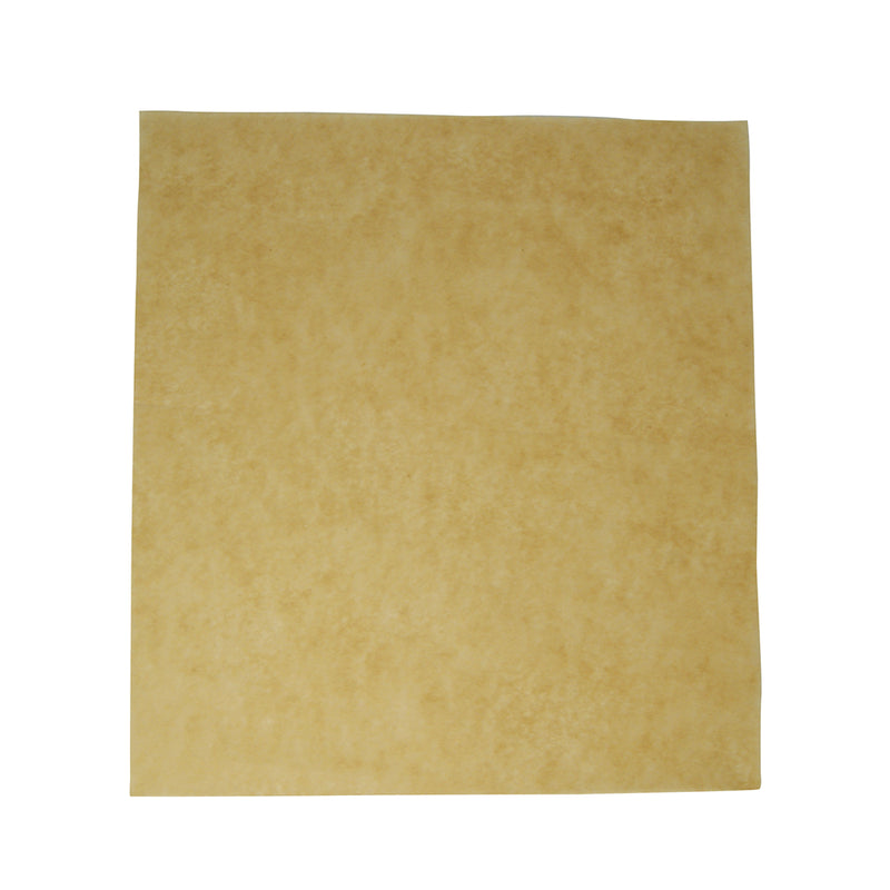 Greaseproof sheet 38 x 27.5cm 50gsm - kraft