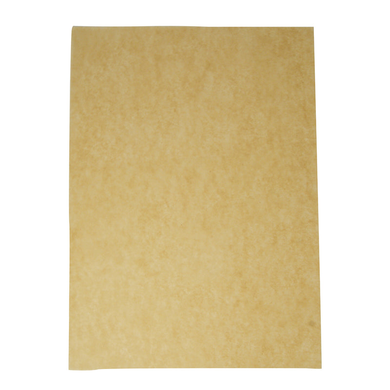 Greaseproof sheet 43 x 35cm 50gsm - kraft