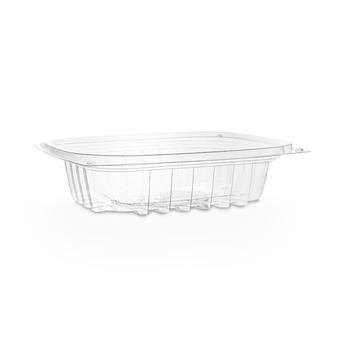 8oz (250ml) Rectangular container - clear