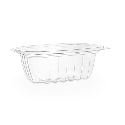 12oz (375ml) Rectangular container - clear