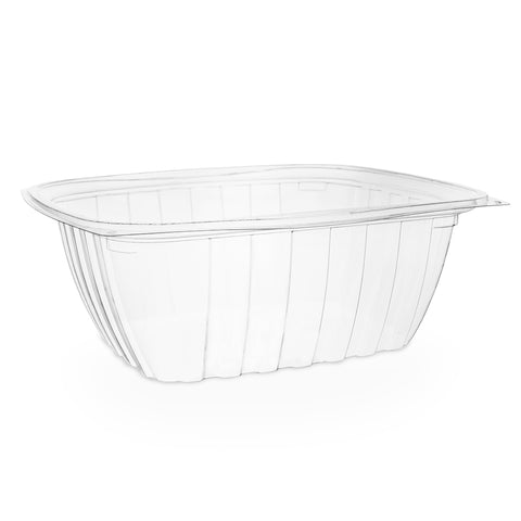 32oz (1000ml) Rectangular container - clear
