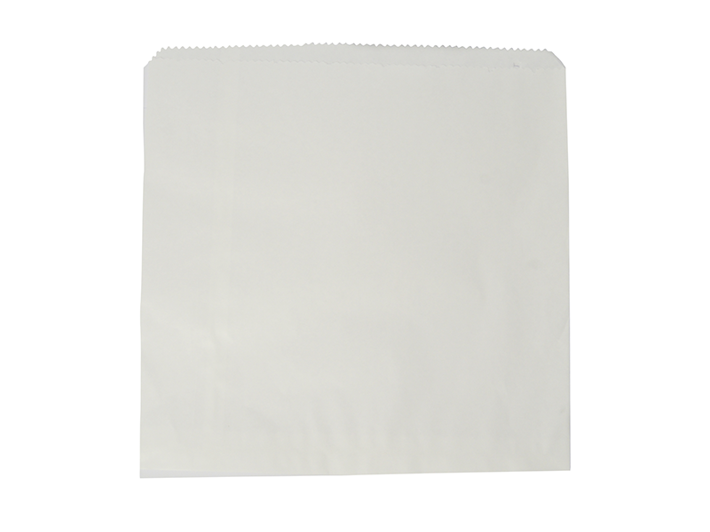 Recycled flat bag 31.7 x 31.7cm - white