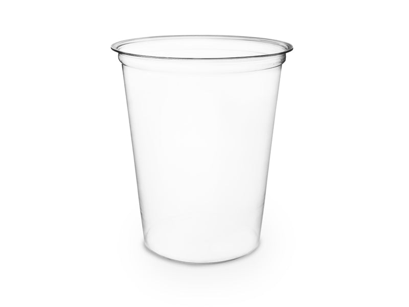32oz (1000ml) Round container - clear