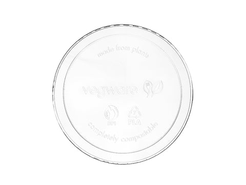 Lid - Round (fits 8 - 32oz round) - clear