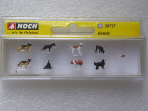 REF 36717 CHIENS ANIMAUX DOMESTIQUES CHIOTS NEUF NOCH ECHELLE N 1/160