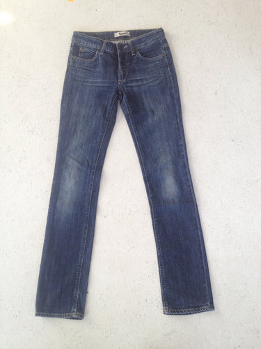 Vintage Blue Acne Woman's Jeans/ Hex Pure/ Size W 26 L 32