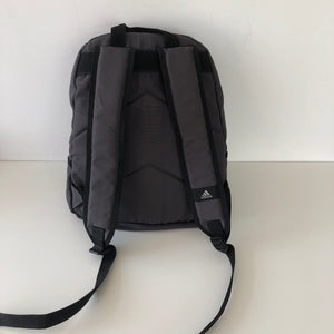 Vintage Gray Adidas Backpack