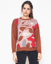 Load image into Gallery viewer, Vintage Brown INCOGNITO Knit Long Sleeve Jumper/ Size M