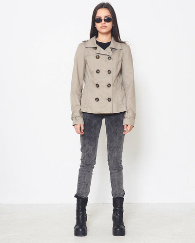 Vintage Grey VERO MODA Button Closure Jacket/ Size S
