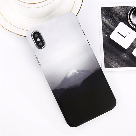 iPhone Foggy Mountain Case