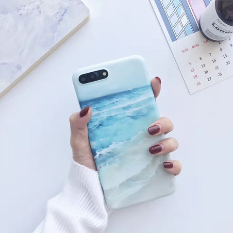 iPhone Sea Blue Ocean Case