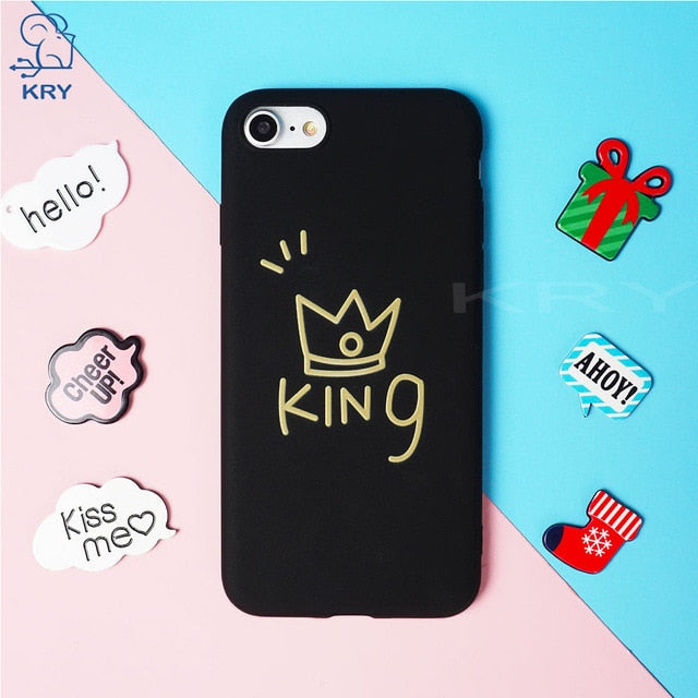 iPhone King/Queen Couple Case