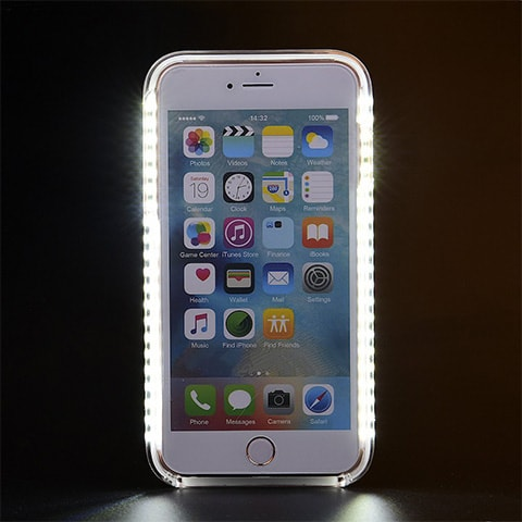 iPhone Selfie Light Up Case