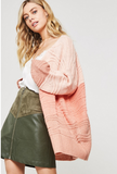 Maisie Dusty Coral Sweater
