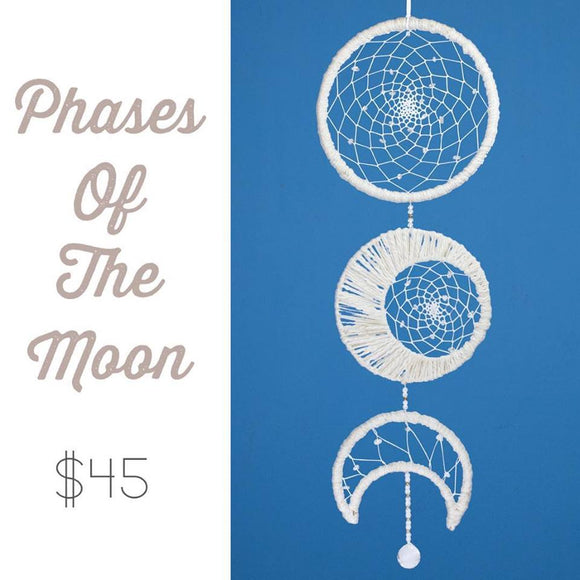 Phases of the Moon Dream Catcher