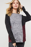 Isabella Color Block Top