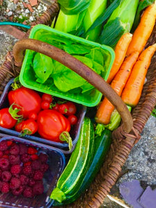Vegetables delivered from the Farm