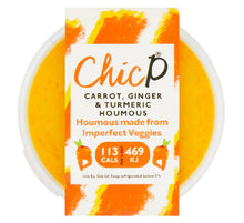 Load image into Gallery viewer, ChicP Carrot, Ginger & Turmeric Houmous
