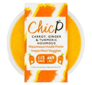 ChicP Carrot, Ginger & Turmeric Houmous