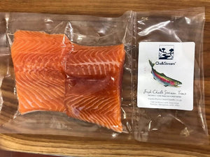 Fresh ChalkStream® Trout - 12 fillet portions (150g each)
