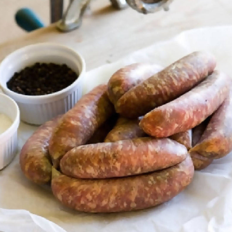 Oak Smoked 100% Pork Sausages (Gluten Free)