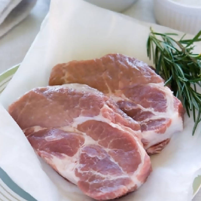 Pork Rib Eye Chops