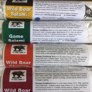 Wild Boar 100g Charcuterie Selection