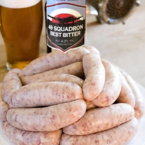 Pork & Real Ale Sausages
