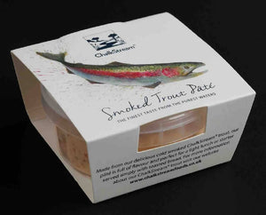 ChalkStream® Cold Smoked Trout Pate - 150g pack