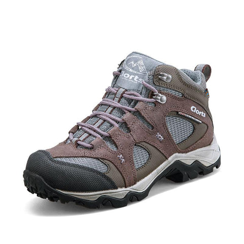 Outdoor breathable waterproof climbing high shoes 4252