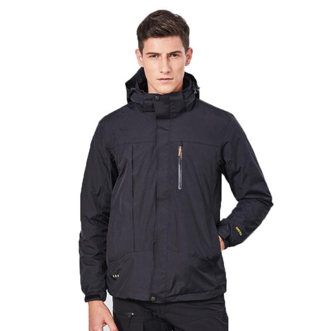 Outdoor couples fleece Jackets windproof warm three-in-one two-piece suit Jacket P17818