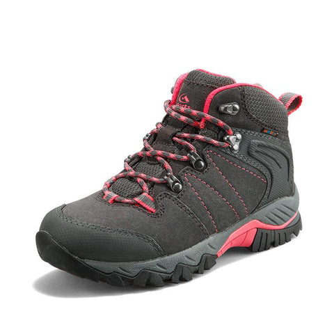 Outdoor breathable waterproof climbing high shoes 5665