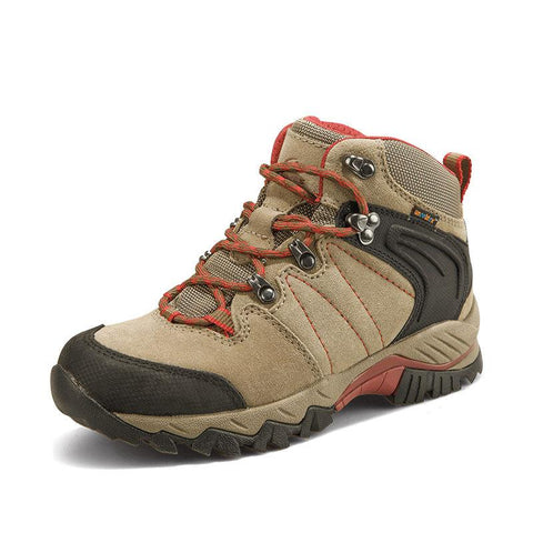 Outdoor breathable waterproof climbing high shoes 4554