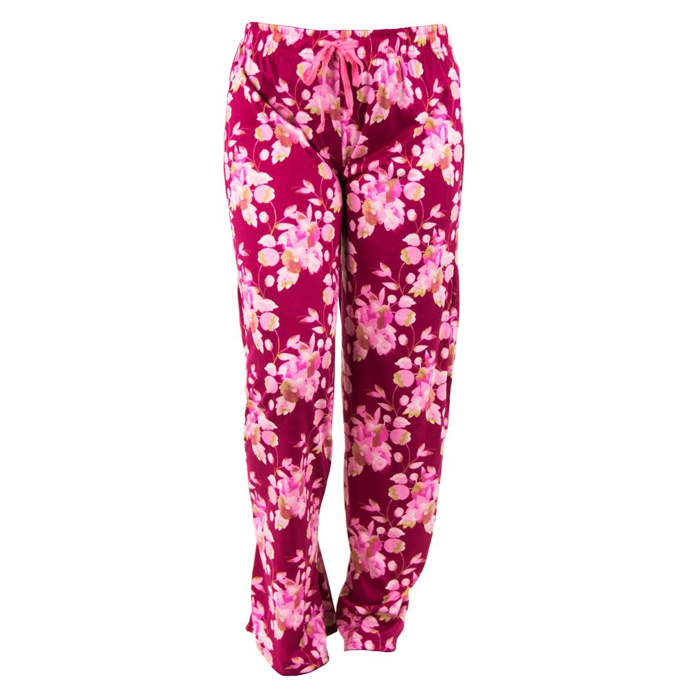 total bliss lounge pants, hello mello, cherry blossom, pink floral pajama bottoms