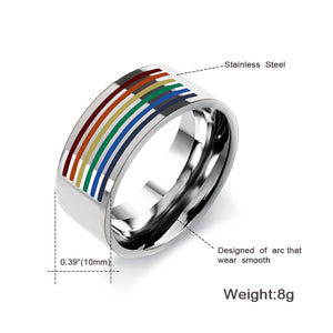 Pride Rainbow Ring (Unisex)