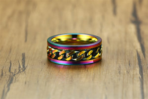 Pride Spinner Ring