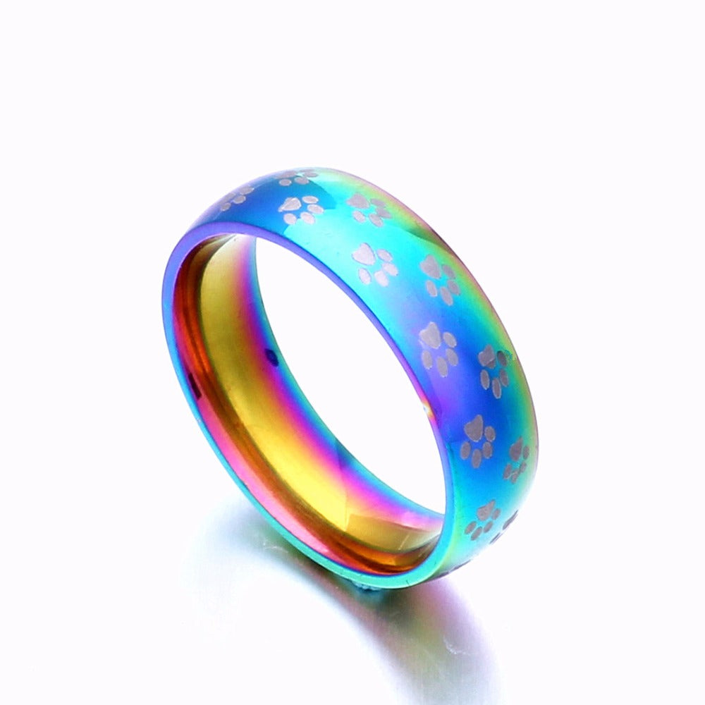 Pride Pet Rainbow Ring