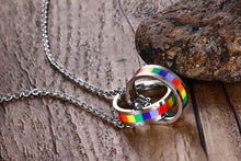 Load image into Gallery viewer, Pride Ring Necklace