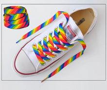 Load image into Gallery viewer, Rainbow Shoelaces